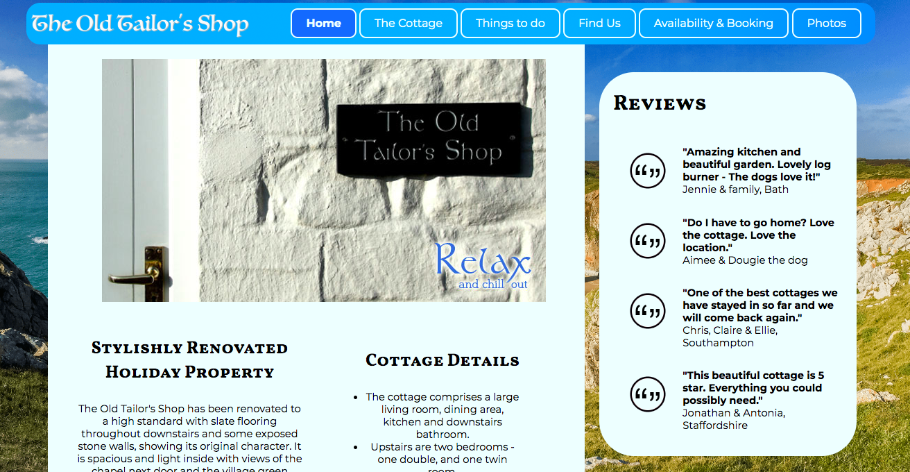 The Old Tailor's Website